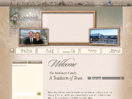 Squamish Funeral Chapel Ltd (604-898-5121) - Website thumbnail - http://www.squamishfuneralchapel.com
