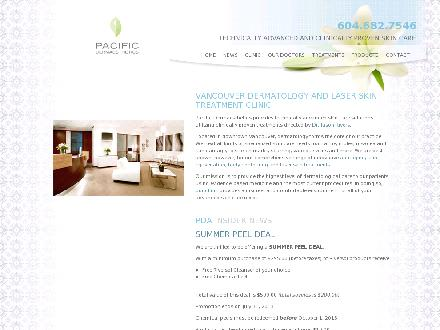 Lougheed Medical Clinic Ltd (604-421-2555) - Website thumbnail - http://www.vancouverskin.com