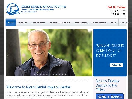 Ickert Dental Implant Centre (604-881-1381) - Onglet de site Web - http://www.ickertdentalimplants.com