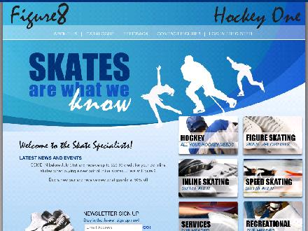 Figure 8 / Hockey One Skate Specialists (613-731-4007) - Onglet de site Web - http://www.figure8.ca
