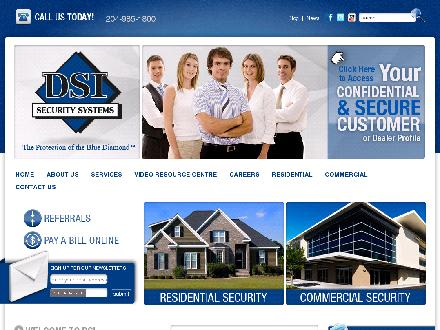 DSI Security Systems Inc (204-985-1800) - Onglet de site Web - http://www.dsicanada.com