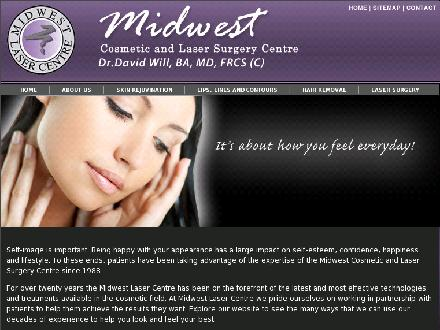 Midwest Cosmetic And Laser Surgery Centre (1-866-251-3477) - Onglet de site Web - http://www.midwestlasercentre.com