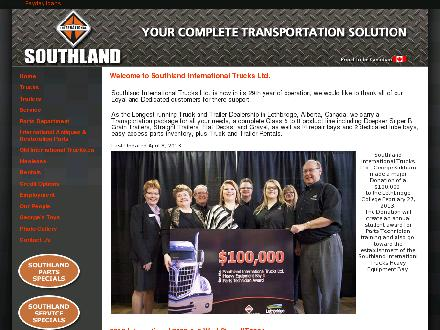 Southland International Trucks Ltd (403-359-9059) - Onglet de site Web - http://www.southlandit.com
