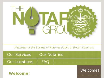 The Notary Group (250-763-1923) - Onglet de site Web - http://www.thenotarygroup.ca