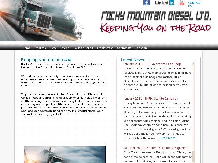 Rocky Mountain Diesel Ltd (250-420-0902) - Website thumbnail - http://www.rockymountaindiesel.com