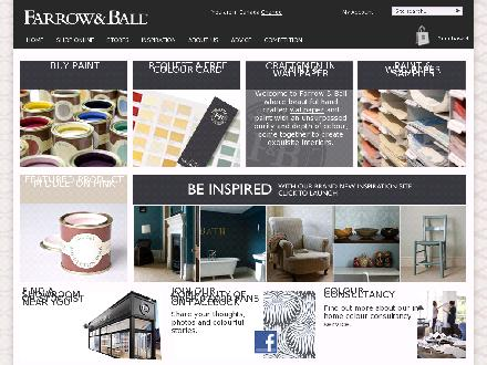 Farrow & Ball (416-920-0200) - Onglet de site Web - http://us.farrow-ball.com/
