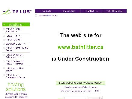 Bath Fitter (403-720-3484) - Website thumbnail - http://www.bathfitter.ca