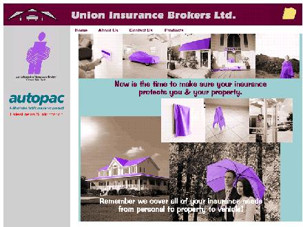 Union Insurance Brokers Ltd (204-255-9223) - Onglet de site Web - http://www.unioninsurance.mb.ca