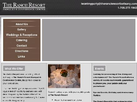 The Ranch Resort (705-277-1942) - Website thumbnail - http://www.theranchresortbethany.com