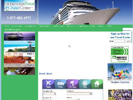 Globetrotter Travel & Cruise Centre (780-482-6971) - Website thumbnail - http://www.globetrottertravel.ca