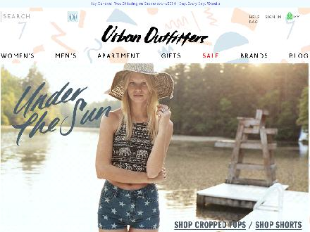 Urbanoutfitters.ca - Website thumbnail - http://www.urbanoutfitters.ca