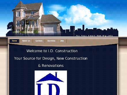 I D Construction (519-498-1453) - Onglet de site Web - http://www.idconstruction.org