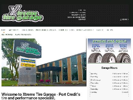 Xtreme Tire Garage Inc (289-814-1580) - Website thumbnail - http://xtremetiregarage.com