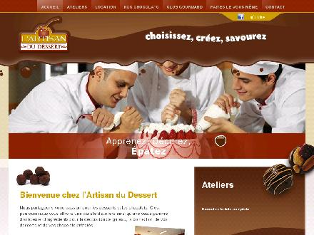 Artisan Du Dessert (L') (819-246-8888) - Onglet de site Web - http://www.artisandudessert.ca