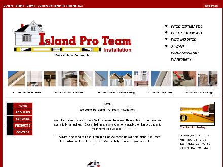 Island Pro Team Installation Inc (250-727-9179) - Website thumbnail - http://www.islandproteam.com