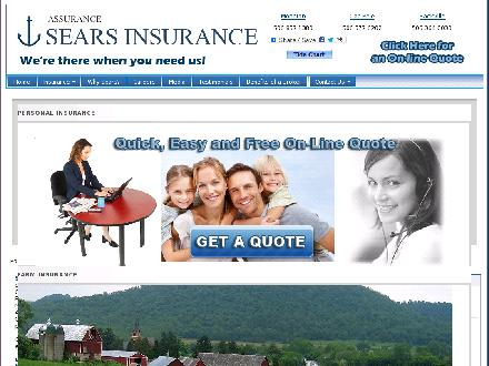 Sears Insurance Limited (506-802-7646) - Onglet de site Web - http://www.searsinsurance.com