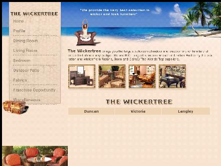 Wickertree The (604-530-0818) - Onglet de site Web - http://www.thewickertree.com