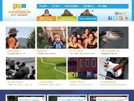 Tourism Harrison (604-796-5581) - Website thumbnail - http://www.tourismharrison.com