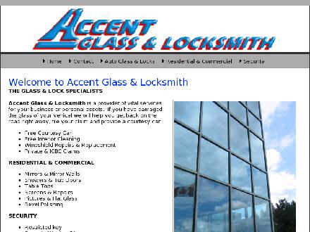 Accent Glass &amp; Locksmith (604-937-1400) - Onglet de site Web - http://www.accentglasslocksmith.ca