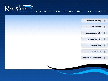 Riverstone Dental Clinic (867-668-6077) - Onglet de site Web - http://www.riverstonedental.ca