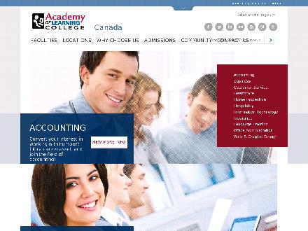 Academy Of Learning Career and Business College (613-707-2130) - Onglet de site Web - http://www.academyoflearning.com