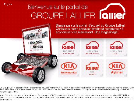 Honda Lallier Automobile Inc (450-581-7575) - Onglet de site Web - http://www.lallier.com