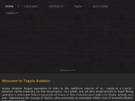 Tsayta Aviation Ltd (250-996-8540) - Website thumbnail - http://www.flightsnorth.com