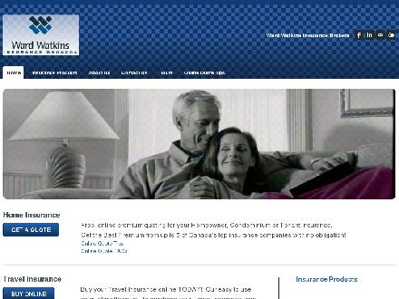 Ward Watkins Insurance Brokers (604-467-6966) - Website thumbnail - http://www.wardwatkins.com