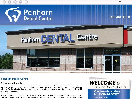 Penhorn Dental Centre (902-465-4210) - Onglet de site Web - http://penhorndental.ca/