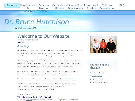 Hutchison Bruce Dr & Associates (204-515-1431) - Website thumbnail - http://www.drbrucehutch.com