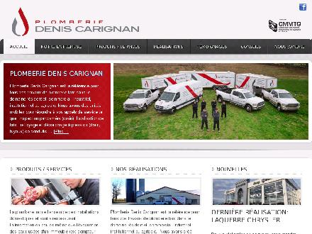 Plomberie Denis Carignan (819-604-3916) - Onglet de site Web - http://www.plomberiedeniscarignan.com