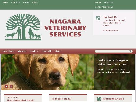 Niagara Veterinary Services (905-353-9069) - Website thumbnail - http://www.nvets.com