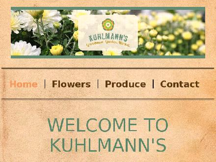 Kuhlmann's Market Gardens &amp; Greenhouses Ltd (780-475-7500) - Onglet de site Web - http://www.kuhlmanns.com