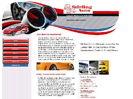 Stirling Auto (403-340-0306) - Website thumbnail - http://www.stirlingauto.ca
