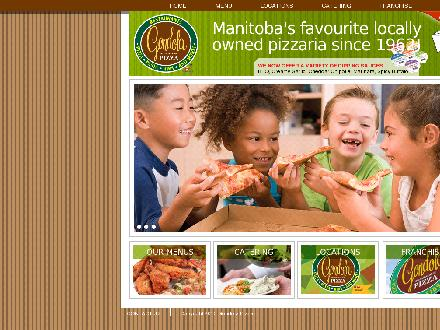 Gondola Pizza (204-727-2070) - Onglet de site Web - http://www.gondola-pizza.com