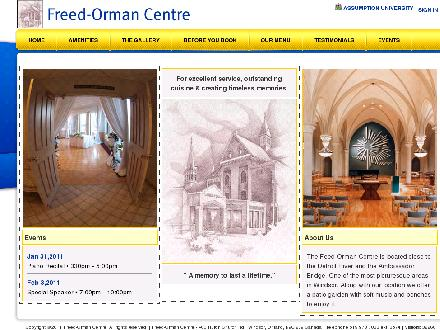 Assumption University (519-973-7033) - Onglet de site Web - http://www.freedorman.ca