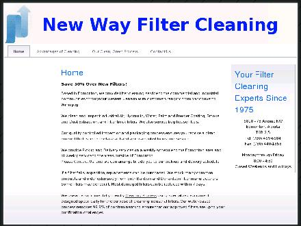 New Way Filter Inc (780-469-6684) - Website thumbnail - http://www.newwayfilter.com