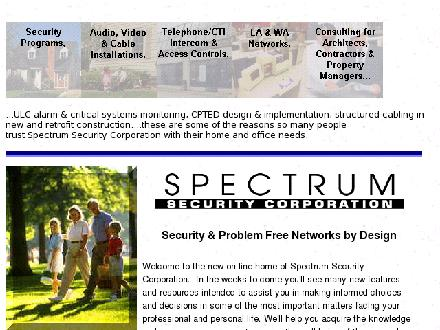 Spectrum Security & Sound Ltd (867-633-4694) - Website thumbnail - http://spectrum-security.ca/