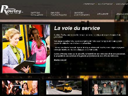 Autobus Rowley Inc (418-842-4874) - Onglet de site Web - http://www.autobusrowley.com