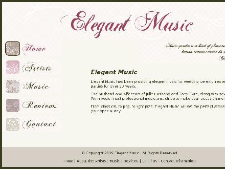 elegantmusic.ca (204-257-2227) - Onglet de site Web - http://www.elegantmusic.ca