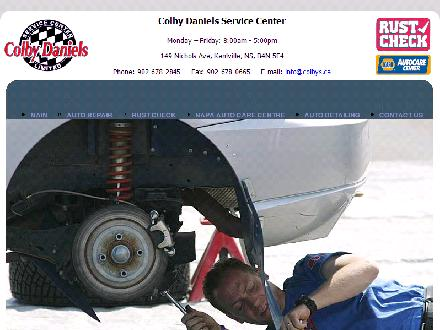 Daniels Colby Service Centre Ltd (902-678-2845) - Onglet de site Web - http://www.colbys.ca