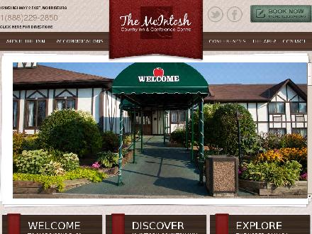 McIntosh Country Inn & Conference Centre (613-543-3788) - Website thumbnail - http://www.mcintoshcountryinn.com