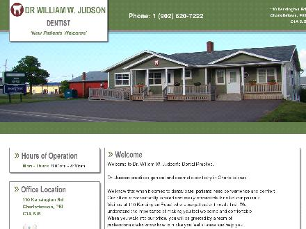 Judson William Dr (902-620-7222) - Onglet de site Web - http://drwilliamwjudson.com/