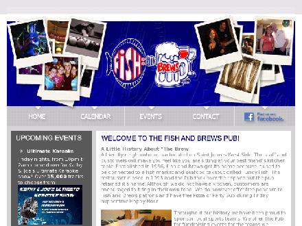 Fish And Brews Pub (506-635-8506) - Website thumbnail - http://www.fishandbrews.com
