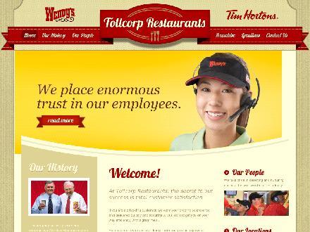 Wendy's Restaurant (403-328-7876) - Website thumbnail - http://www.tollcorp.com