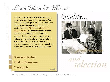 Low's Glass & Mirror Co Ltd (905-684-9427) - Website thumbnail - http://www.lowsglass.com