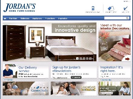 Jordan's Home Furnishings Ltd (902-582-3350) - Website thumbnail - http://www.jordansfurnishings.com
