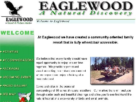 Eaglewood (705-437-1634) - Website thumbnail - http://www.eaglewood.on.ca
