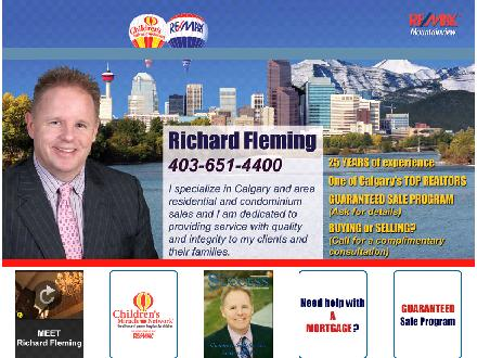 Remax Mountainview - Richard Fleming (403-727-0220) - Website thumbnail - http://www.calgaryrealestatesales.ca