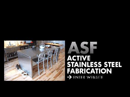 Active Stainless Steel Fabrication (416-519-3639) - Website thumbnail - http://www.activestainless.com